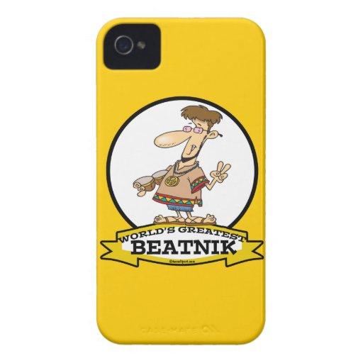 WORLDS GREATEST BEATNIK MEN CARTOON iPhone 4 COVERS