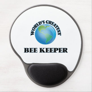 World's Greatest Bee Keeper Gel Mouse Mat