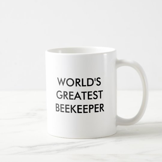 WORLD'S GREATEST BEEKEEPER COFFEE MUG