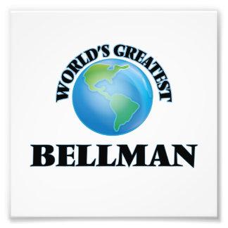 World's Greatest Bellman Photo Print