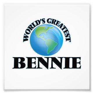 World's Greatest Bennie Photo Print
