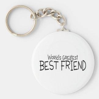 Worlds Greatest Best Friend Key Chains