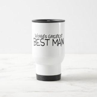 Worlds Greatest Best Man Travel Mug