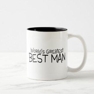 Worlds Greatest Best Man Wedding Coffee Mug