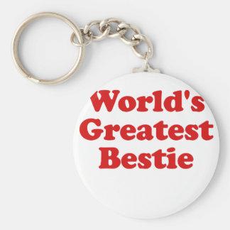 Worlds Greatest Bestie Keychain