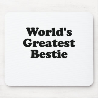 Worlds Greatest Bestie Mouse Pad