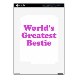 Worlds Greatest Bestie Decals For iPad 3