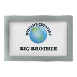 World's Greatest Big Brother Rectangular Belt Buckle