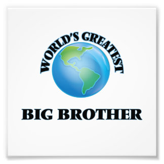 World's Greatest Big Brother Photo Print