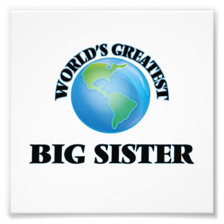 World's Greatest Big Sister Photo Art