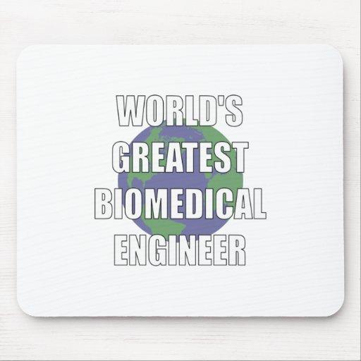 World's Greatest Biomedical Engineer Mousepad