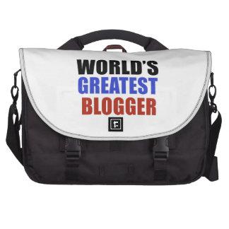 World's greatest BLOGGER Computer Bag