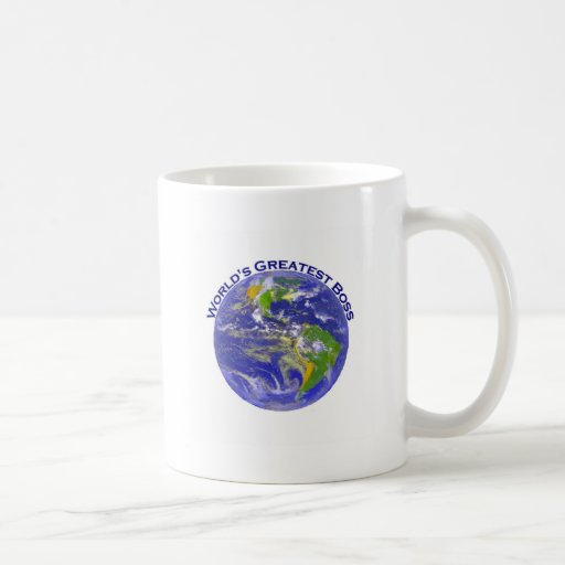 World's Greatest Boss Classic White Coffee Mug