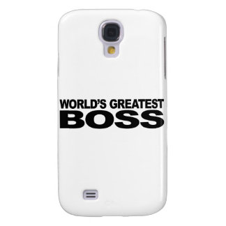 World's Greatest Boss Galaxy S4 Cover