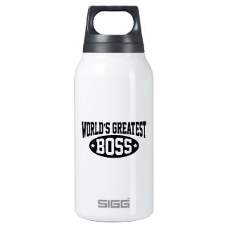 World's Greatest Boss Insulated Water Bottle