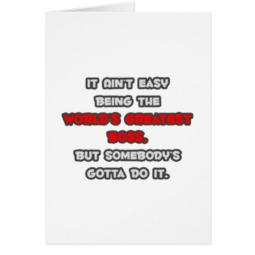 Boss Jokes Cards, Boss Jokes Card Templates, Postage, Invitations, Photocards & More