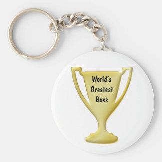 Worlds Greatest Boss Keychain