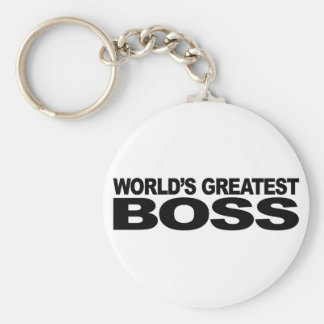 World's Greatest Boss Keychain