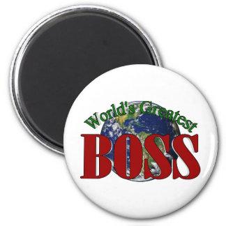 World's Greatest Boss Fridge Magnets