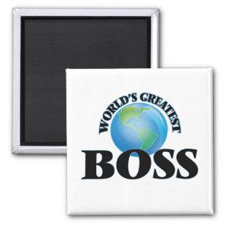 World's Greatest Boss Refrigerator Magnet