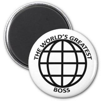 World's Greatest Boss Magnet