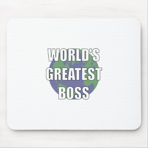 World's Greatest Boss Mouse Pads