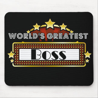 World's Greatest Boss Mouse Pad