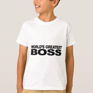 World's Greatest Boss T-Shirt