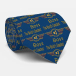 World's Greatest Boss Tie
