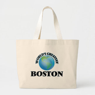 World's Greatest Boston Tote Bag