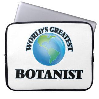 World's Greatest Botanist Laptop Computer Sleeve