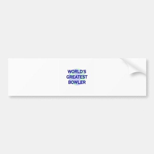 World's Greatest Bowler Bumper Sticker