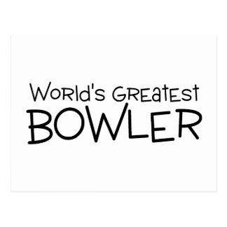 Worlds Greatest Bowler Postcard