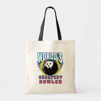 World's Greatest Bowler Tote Bag