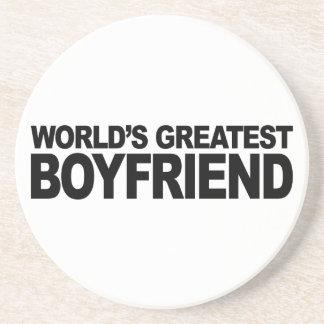 World's Greatest Boyfriend Coaster