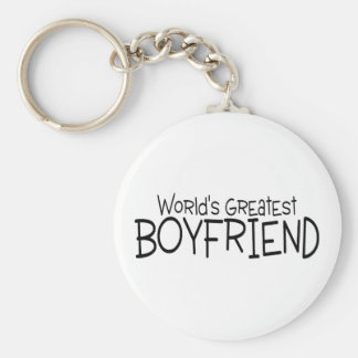 Worlds Greatest Boyfriend Keychain