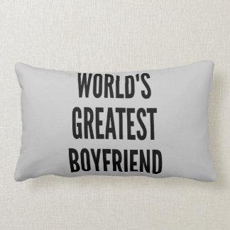 Worlds Greatest Boyfriend Pillow