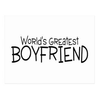 Worlds Greatest Boyfriend Postcard