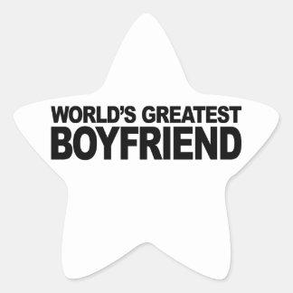 World's Greatest Boyfriend Star Sticker