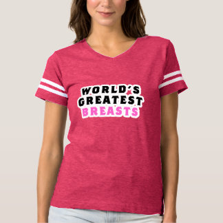 World's Greatest Breasts T-shirt