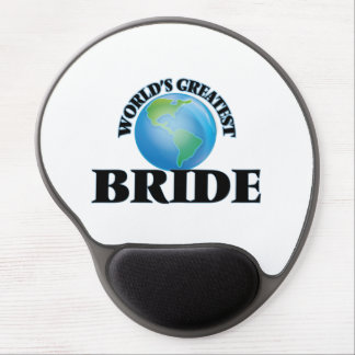 World's Greatest Bride Gel Mouse Pad