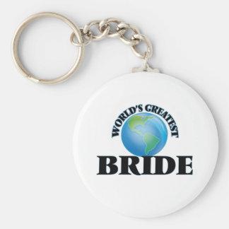 World's Greatest Bride Keychain