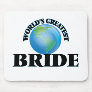 World's Greatest Bride Mousepad