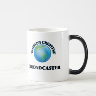 World's Greatest Broadcaster Coffee Mug