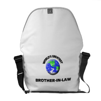 World's Greatest Brother-In-Law Messenger Bag
