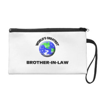World's Greatest Brother-In-Law Wristlet Clutches