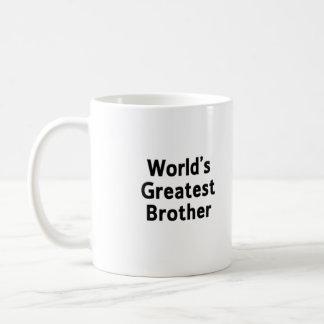 World's Greatest Brother Mug