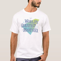 World's Greatest Brother Men's Basic T-Shirt