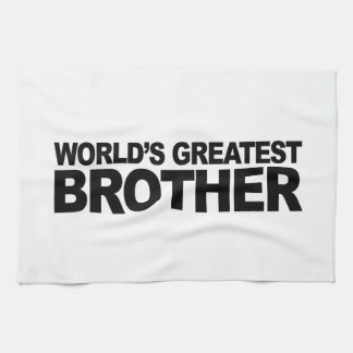 World's Greatest Brother Towel