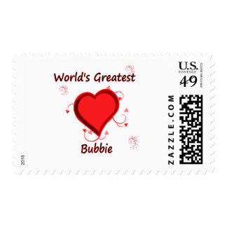 World's Greatest Bubbie Stamps
